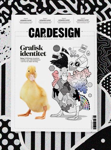 Cap & Design — Omslaget